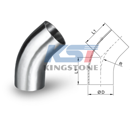 45° Welded Elbow (Long Type)