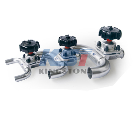 U type diaphragm valve