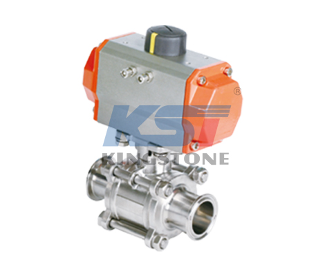 Pueumatic non-retention ball valve
